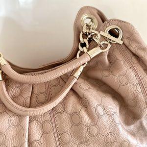 Oroton Leather Nude Bag